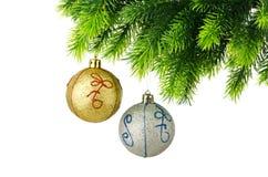 występować samodzielnie dekoracji świątecznej Fotografia Stock