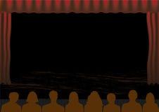 występu theatre ilustracja wektor