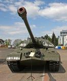 Wystawa militarni retro pojazdy Obrazy Stock