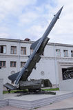 Wystawa militarny wyposażenie Fotografia Royalty Free