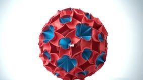 Wystawa origami piłka zdjęcie wideo