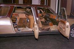 Wystawa Peugeot samochody przy Peugeot muzeum w Sochaux Francja obrazy stock