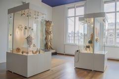 Wystawa Przy Allard Pierson muzeum Przy Amsterdam holandie zdjęcie stock