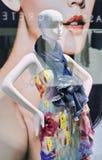 Wystawia mannequin w luksusowym ujściu, Pekin, Chiny Obrazy Royalty Free