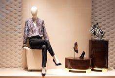 wystawia mody mannequin Obrazy Stock