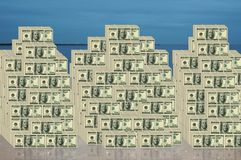 wystawia rachunek dolara Obraz Royalty Free
