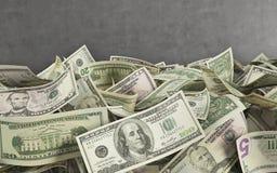 wystawia rachunek dolara obrazy stock