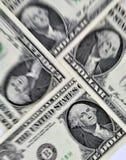 wystawia rachunek dolara Zdjęcie Royalty Free