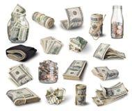wystawia rachunek dolara Zdjęcia Royalty Free