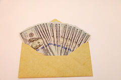 wystawia rachunek dolara Obraz Stock