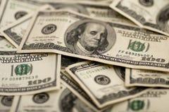 wystawia rachunek dolara sto Obrazy Stock
