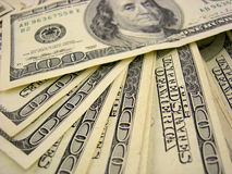 wystawia rachunek dolara sto Obrazy Royalty Free