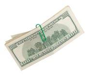 wystawia rachunek dolara sto jeden Fotografia Royalty Free