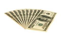 wystawia rachunek dolara sto jeden Obrazy Royalty Free