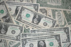 wystawia rachunek dolarowego pieniądze Zdjęcie Royalty Free