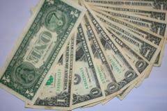 wystawia rachunek dolarowego pieniądze Obrazy Royalty Free