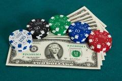 wystawia rachunek dolarowych kasyn układ scalony Zdjęcie Royalty Free