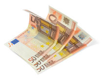 wystawia rachunek euro fotografia stock