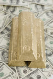 wystawia rachunek złoto Zdjęcie Royalty Free