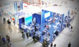 Wystawy handlowa tło Fotografia Stock