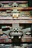 Wystawy w muzeum narodowym antropologia, Meksyk Obraz Stock