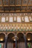 Wystrój Catherdal Sant Apollinare Nuovo Zdjęcie Royalty Free