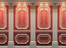 wystrój ściany Obraz Royalty Free