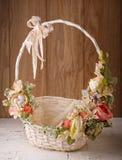 Wystrój dla świętować wielkanoc tła koszykowy Easter astronautyczny tekst Obraz Royalty Free