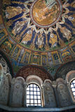 Wystrój neoniano baptysterium w Ravenna Zdjęcia Stock