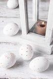 Wystrój rzeźbiący jajka Obrazy Royalty Free