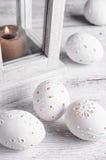 Wystrój rzeźbiący jajka Zdjęcie Royalty Free