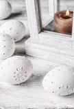 Wystrój rzeźbiący jajka Obraz Royalty Free