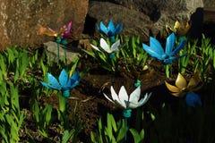 Wystrojów flowerbeds Zdjęcie Stock