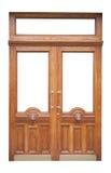 wystroju drewniany drzwiowy stary Obraz Stock
