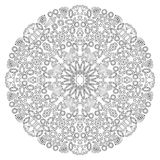 Wystroju klejnotu kwiecisty mandala Zdjęcie Royalty Free