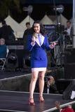 Wystrzału piosenkarz Katy Perry Zdjęcia Royalty Free