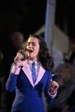 Wystrzału piosenkarz Katy Perry Zdjęcia Stock