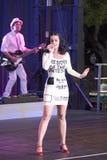 Wystrzału piosenkarz Katy Perry Obrazy Royalty Free