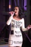 Wystrzału piosenkarz Katy Perry Fotografia Stock