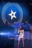 Wystrzału piosenkarz Katy Perry Obrazy Stock