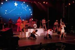 Wystrzału piosenkarz Katy Perry jest ubranym a  Obraz Royalty Free