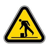 Wystrzega się przeszkody Wektorowa ilustracja EPS, symbol Odizolowywa Na Białym tle 10 ilustracji