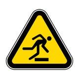 Wystrzega się przeszkody Wektorowa ilustracja EPS, symbolu znak Odizolowywa Na Białym tle 10 ilustracja wektor