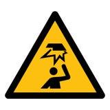 Wystrzega się Zasięrzutne przeszkody Wektorowa ilustracja EPS, symbol Odizolowywa Na Białym tle 10 ilustracji
