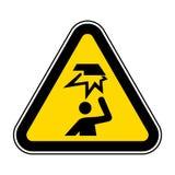 Wystrzega się Zasięrzutne przeszkody Wektorowa ilustracja EPS, symbol Odizolowywa Na Białym tle 10 royalty ilustracja