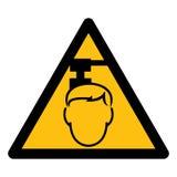 Wystrzega się Zasięrzutnego zagrożenie symbol Odizolowywa Na Białym tle, Wektorowa ilustracja EPS 10 ilustracji