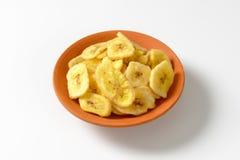 Wysuszeni Bananowi Układ scalony Zdjęcia Royalty Free