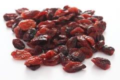 Wysuszeni cranberries Obrazy Stock