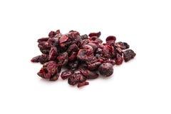Wysuszeni Cranberries Zdjęcie Stock