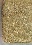 Wysuszeni herbaciani liście jako tło, zbliżenie Obraz Stock
